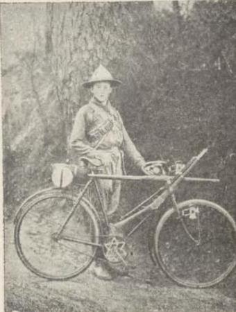 Skaut-cyklista.