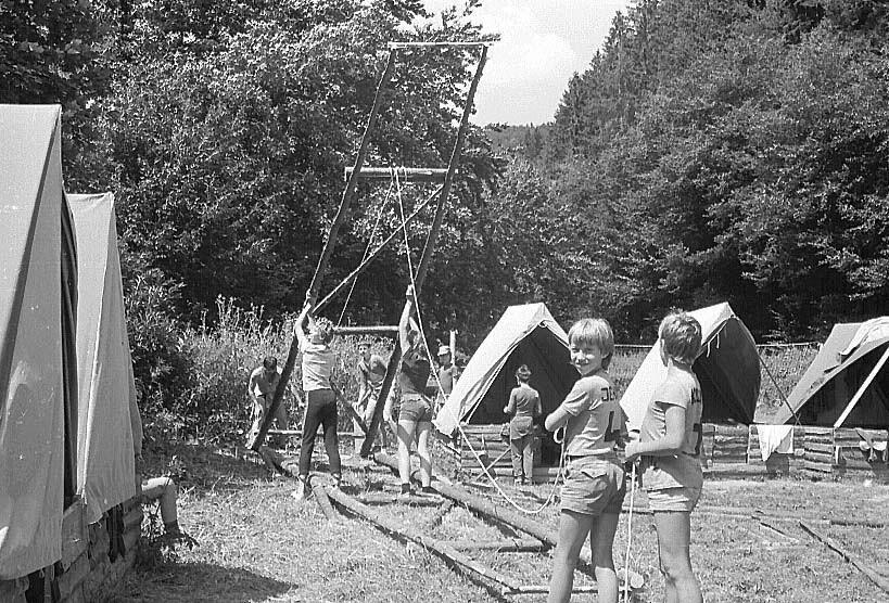 Tábor Vítkov podhradí