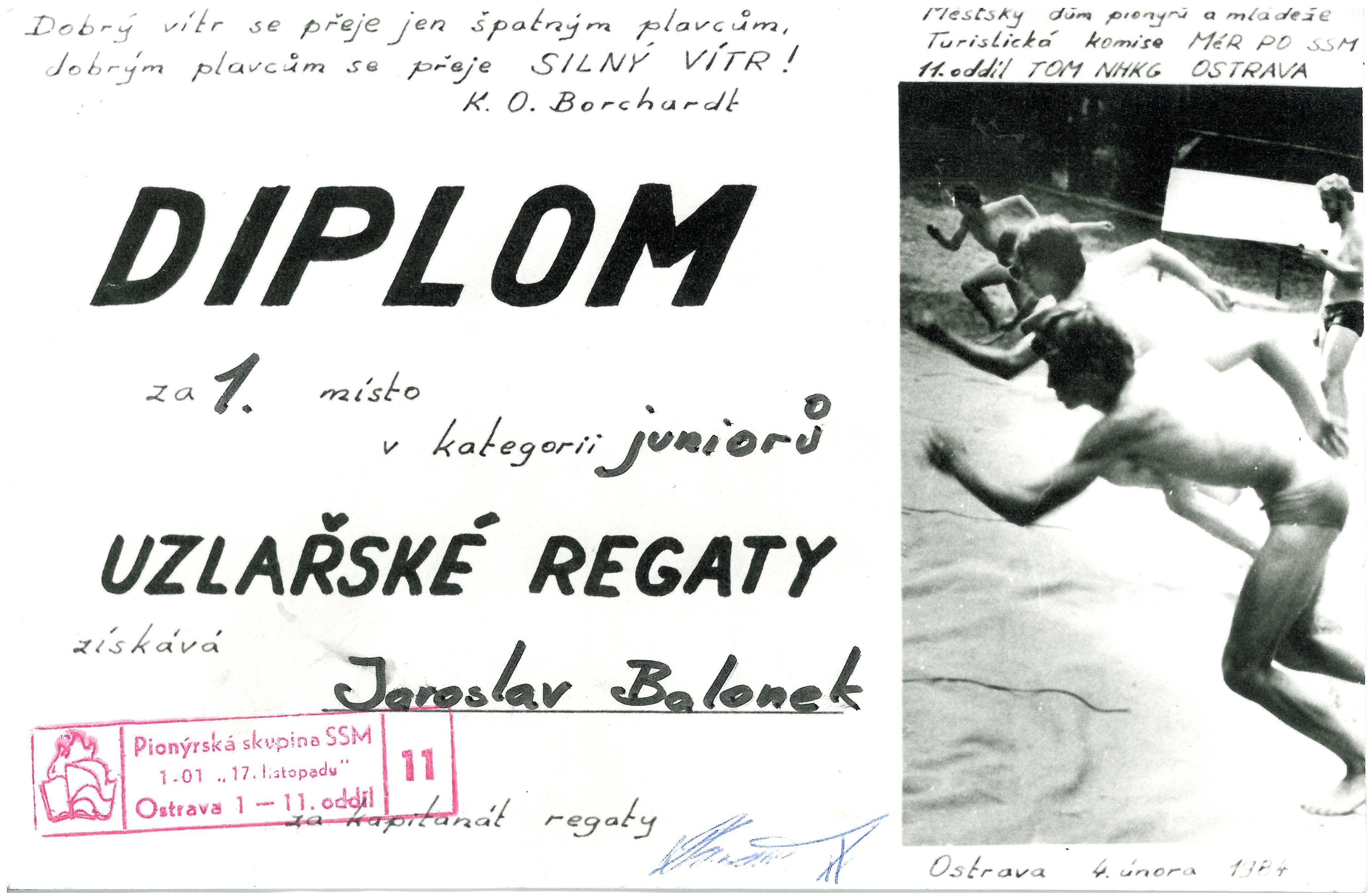 1984 - Uzlařská regata Ostrava