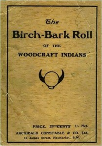 The Birch-Bark Roll of the Woodcraft Indians, 1906 english edition