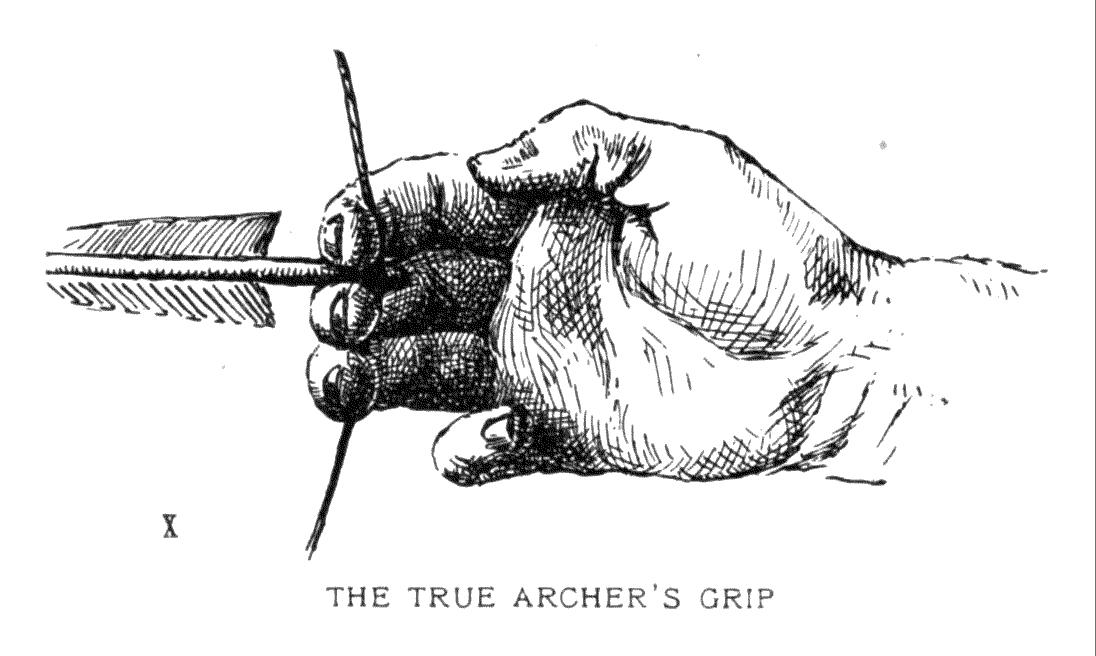 THE TRUE ARCHER'S ARCHER'S GRIP