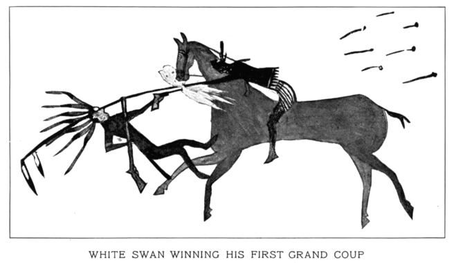 WHITE SWAN WINNING HIS FIRST GRAND COUP
